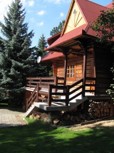 Podwórko - chata-zacisze.pl