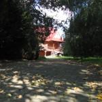 Zdjęcie od bramy - chata-zacisze.pl