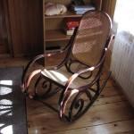 Fotel bujany - sypialnia na piętrze